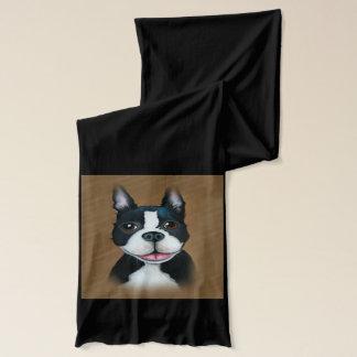 Boston Terrier Fashion Scarf