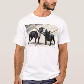 Boston Terrier  & French Bulldog T-Shirt