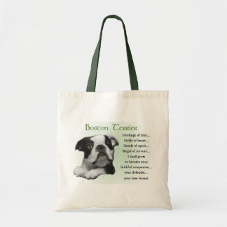 Boston Terrier Gifts Tote Bag