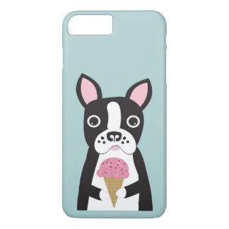 Boston Terrier & Ice Cream Case-Mate iPhone Case