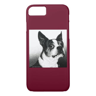 "Boston Terrier iPhone 7 Case - ""Boston Style"""