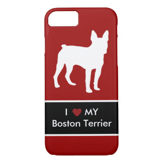 Boston Terrier Love iPhone 7 Case