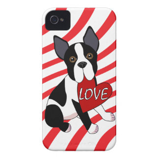 Boston Terrier Love iPhone Case