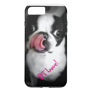Boston Terrier Love iPhone Case! iPhone 7 Plus Case