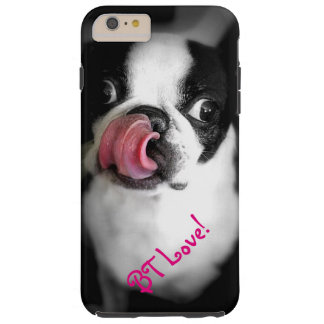 Boston Terrier Love iPhone Case! Tough iPhone 6 Plus Case