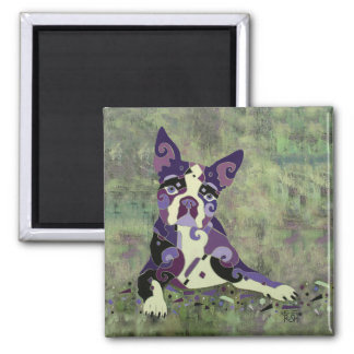 Boston Terrier Magnet for your Refrigerator