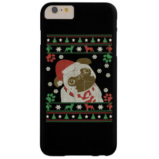 Boston Terrier - Merry Christmas Barely There iPhone 6 Plus Case