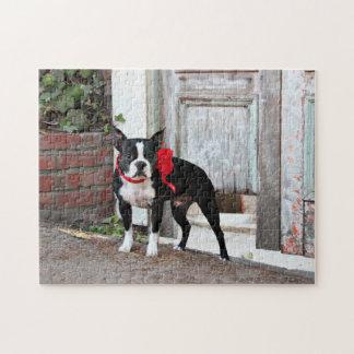 Boston Terrier - Miles Jigsaw Puzzle