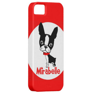 Boston Terrier Mirabelle iphone 5 case