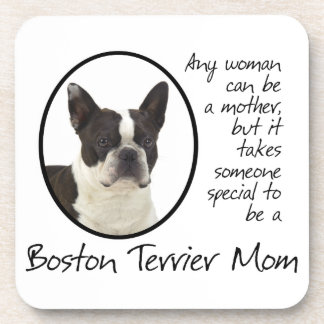 Boston Terrier Mom Coasters