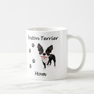 Boston Terrier Mom Coffee Mug