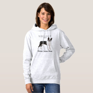 Boston Terrier Mom Hoodie