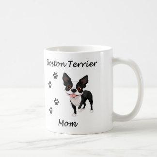 Boston Terrier Mom Coffee Mugs