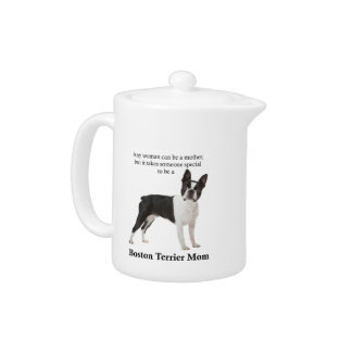 Boston Terrier Mom Teapot