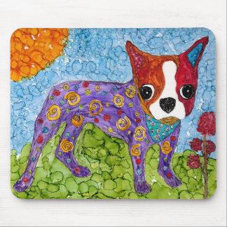 Boston Terrier Mousepad (You can Customize)