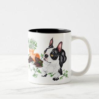 Boston Terrier Naughty Pup Mug