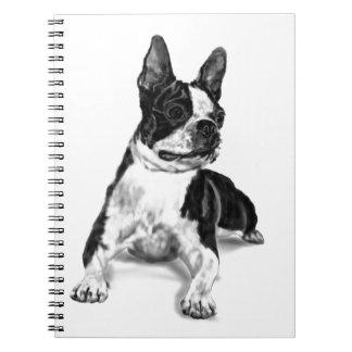 Boston Terrier Note Book