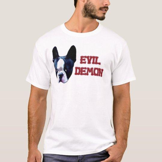 Boston Terrier or Evil Demon? T-Shirt