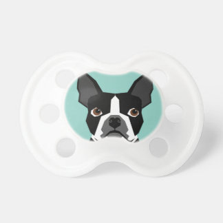 Boston Terrier Pacifier