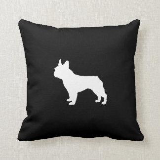 Boston Terrier Pillow - black and white