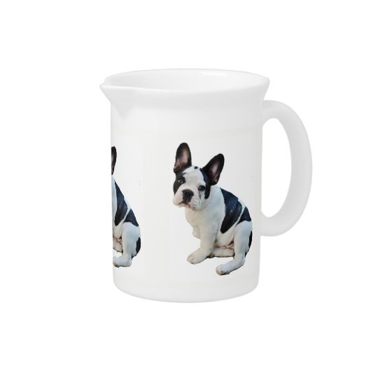 Boston Terrier Pitcher