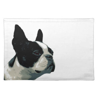 Boston terrier placemat