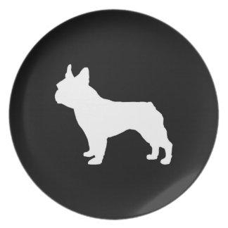 Boston Terrier plate