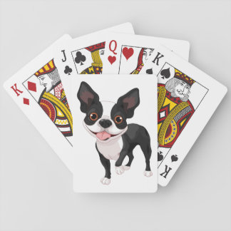 Boston Terrier Playing Cards Fun Gift Idea