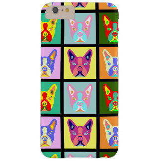 Boston Terrier Pop Art Barely There iPhone 6 Plus Case