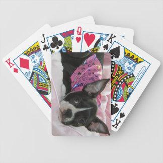 Boston Terrier Puppy Dog Poker Deck