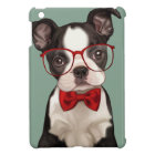 Boston Terrier Puppy with Specs iPad Mini Cover