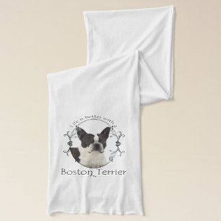 Boston Terrier Scarf