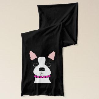 Boston Terrier Scarf