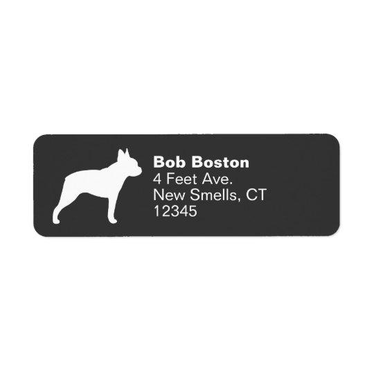 Boston Terrier Silhouette