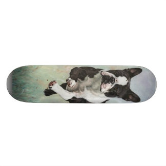 Boston Terrier Skateboard