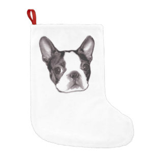 Boston Terrier Stocking