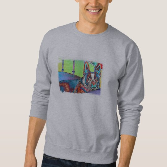 Boston Terrier Sweatshirt - Customized