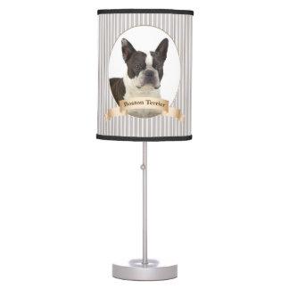 Boston Terrier Table Lamp
