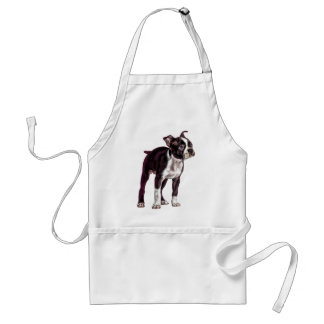 Boston Terrier Tablier