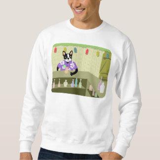 Boston Terrier Tiki Bar Sweatshirt