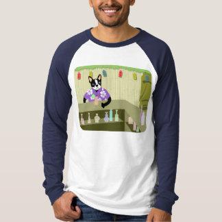 Boston Terrier Tiki Bar Tee Shirts