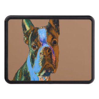 Boston Terrier Tow Hitch Cover