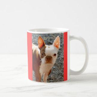 Boston Terrier w/Name Coffee Mug