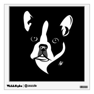 Boston Terrier Wall Art Decals