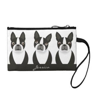 Boston Terrier Wristlet Bag
