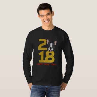 Boston terrier Year of the Dog 2018 New Year Shirt