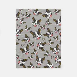 Boston Terriers #15 Fleece Blanket