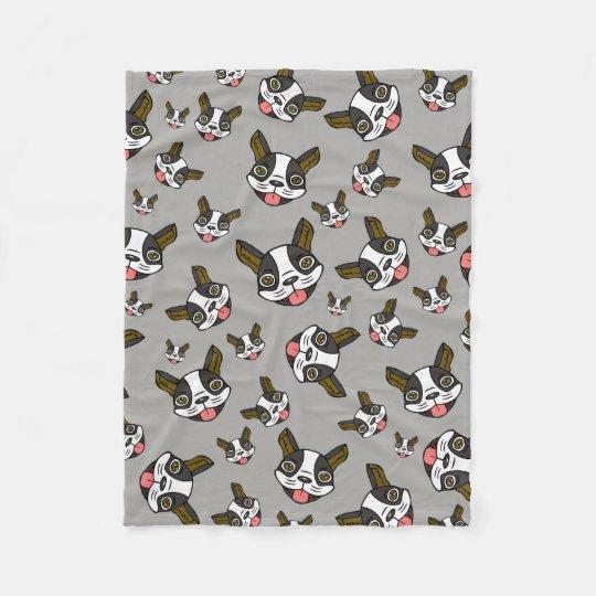 Boston Terriers #15 Fleece Blanket