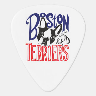 Boston Terriers Are a Gas Guitar Picks