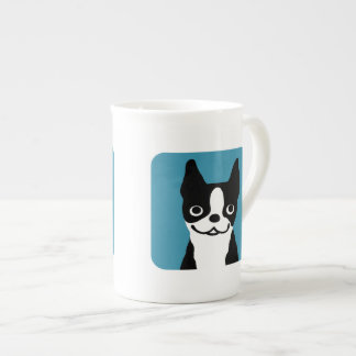 Boston Terriers - Funky Dog Design Tea Cup